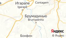 Отели города Брумадинью на карте