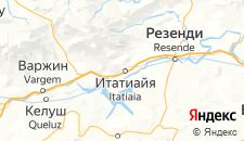 Отели города Итатиая на карте