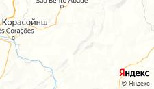 Отели города Сан-Томе-дас-Летрас на карте