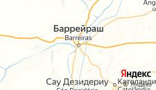 Отели города Баррейрас на карте