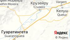 Отели города Кашуэйра-Паулиста на карте