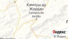 Отели города Кампус-ду-Жордау на карте