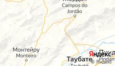 Отели города Санту-Антониу-ду-Пиньял на карте