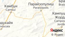 Отели города Гонсалвис на карте
