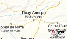Отели города Позу-Алегри на карте