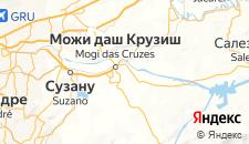 Отели города Можи-дас-Крузис на карте