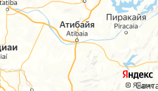 Отели города Атибая на карте