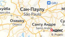 Отели города Сан-Паулу на карте