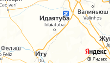 Отели города Индаятуба на карте