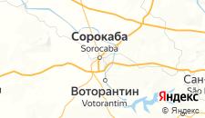 Отели города Сорокаба на карте