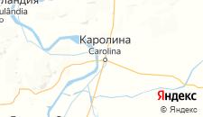 Отели города Каролина на карте