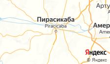 Отели города Пирасикаба на карте