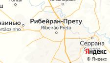 Отели города Рибейран-Прету на карте