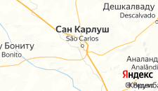 Отели города Сан-Карлус на карте
