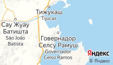 Отели города Говернадор-Селсу-Рамус на карте