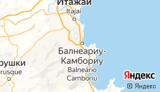 Отели города Балнеариу-Камбориу на карте