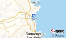 Отели города Навегантис на карте