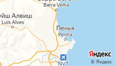 Отели города Писаррас на карте