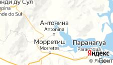 Отели города Антонина на карте