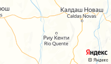 Отели города Риу-Кенти на карте
