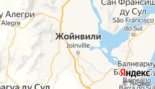 Отели города Жоинвили на карте