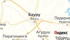 Отели города Бауру на карте