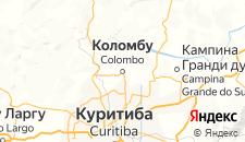 Отели города Коломбо на карте