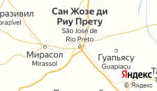 Отели города Сан-Жозе-ду-Риу-Прету на карте