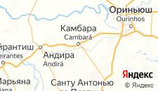 Отели города Камбара на карте