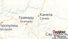 Отели города Канела на карте