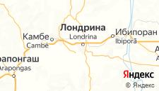 Отели города Лондрина на карте