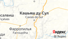 Отели города Кашиас-ду-Сул на карте