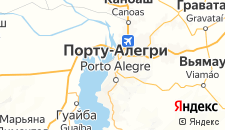 Отели города Порту-Алегри на карте