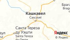 Отели города Каскавел на карте