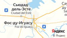 Отели города Фос-ду-Игуасу на карте