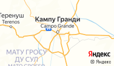 Отели города Кампу-Гранди на карте