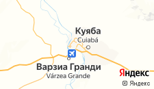 Отели города Куяба на карте