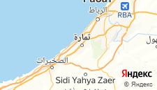 Отели города Темара на карте