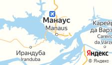 Отели города Манаус на карте