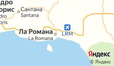Отели города Ла-Романа на карте