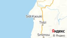 Отели города Сиди Кауки на карте