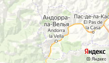Гостиницы города Ла Массана на карте