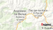Гостиницы города Канилло на карте