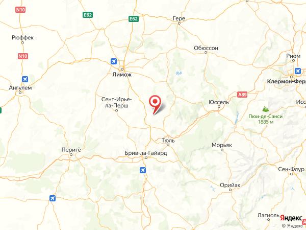 Конда-сюр-Ганаве на карте