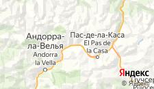 Гостиницы города Эль-Тартер на карте