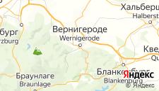 Отели города Вернигероде на карте