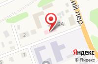 Схема проезда до компании Славия в Тулуне