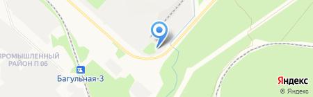 Тимокс на карте Братска