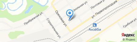 Отдел по работе с населением жилого района Чекановский на карте Братска