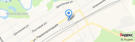 АмурВтормет-Байкал на карте Братска